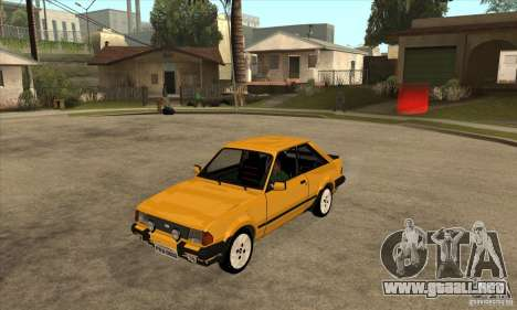 Ford Escort XR3 1986 para GTA San Andreas