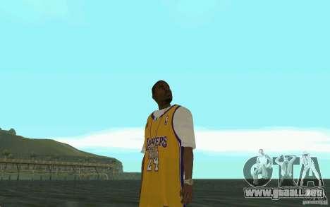 Afro-American HD skin para GTA San Andreas quinta pantalla
