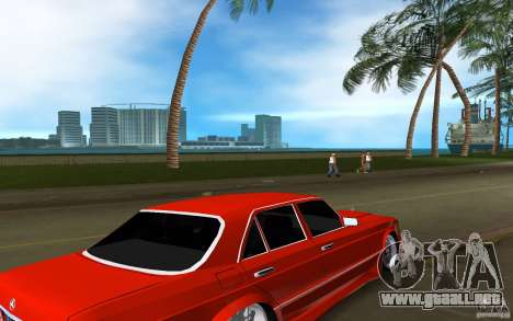 Mercedes-Benz W126 Wild Stile Edition para GTA Vice City visión correcta