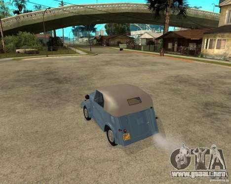 SMZ s-3A para GTA San Andreas left
