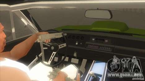 Dodge Charger RT SharkWide para la vista superior GTA San Andreas