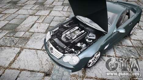 Mercedes Benz SL65 AMG V1.1 para GTA 4 vista hacia atrás