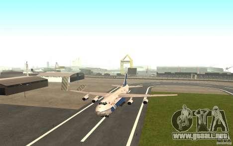 El an-124 Ruslan para GTA San Andreas left