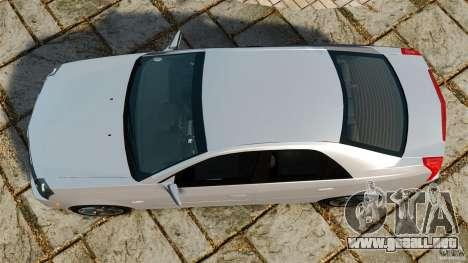 Cadillac CTS-V 2004 para GTA 4 visión correcta