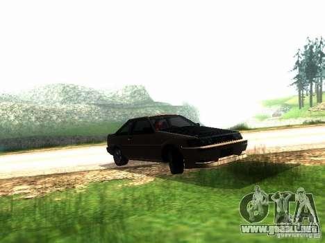 Toyota Corolla AE86 Levin para GTA San Andreas left
