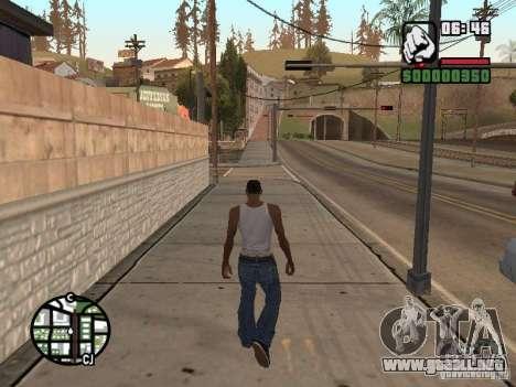 PARKoUR para GTA San Andreas tercera pantalla