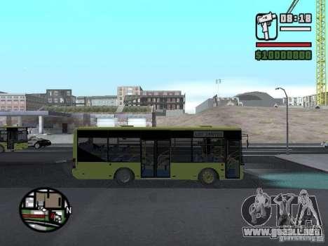 LAZ A099 (SitiLAZ 8) para la visión correcta GTA San Andreas
