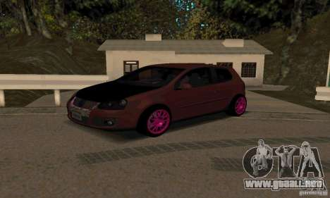 Volkswagen Golf V JDM Style para GTA San Andreas