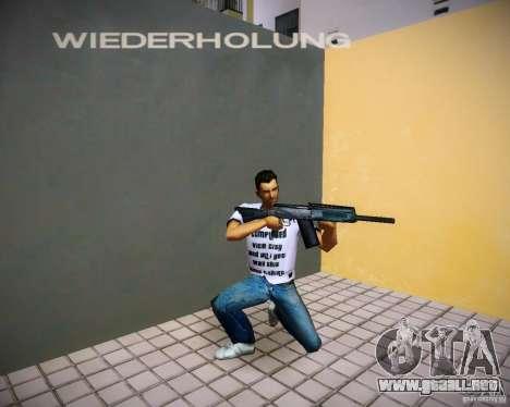 Saiga 12 k para GTA Vice City quinta pantalla