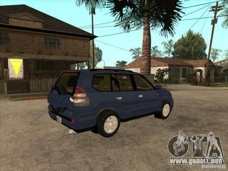Toyota Land Cruiser Prado para la visión correcta GTA San Andreas