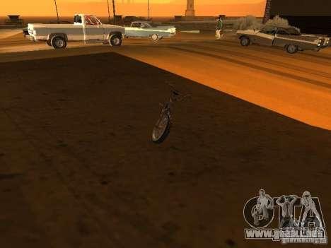 New Bmx para visión interna GTA San Andreas