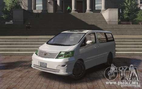 Toyota Alphard v2.0 para GTA 4