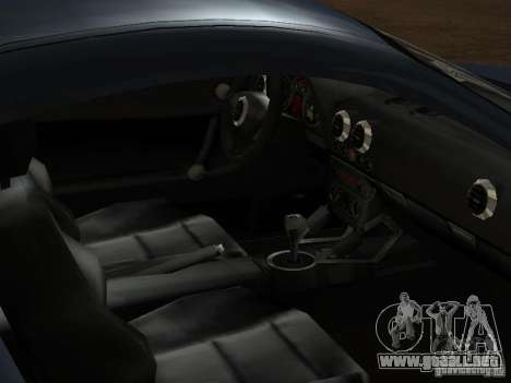 Audi TT 3.2 Quattro para vista inferior GTA San Andreas