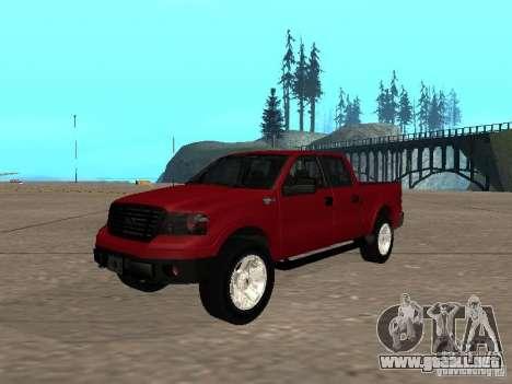 Ford F-150 2005 para GTA San Andreas