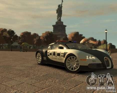 Bugatti Veyron Police [EPM] para GTA 4