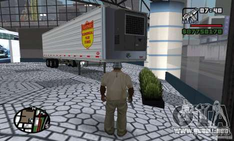 Semi Artict1 para GTA San Andreas left