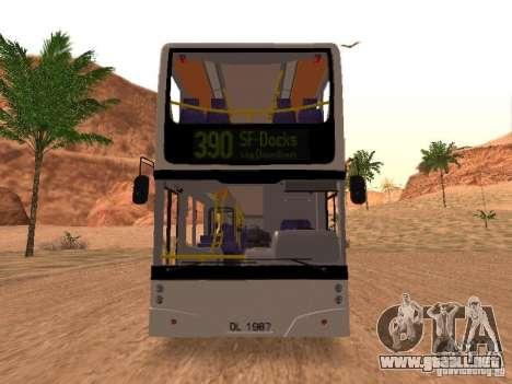 Volvo B7L para GTA San Andreas left