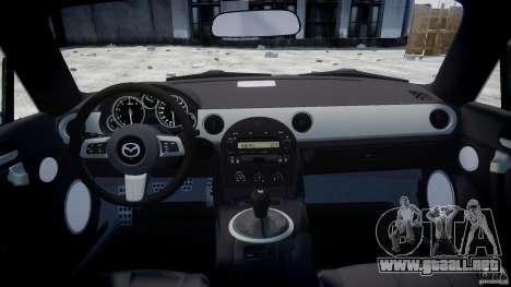 Mazda MX-5 para GTA 4 visión correcta
