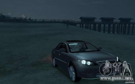 Toyota Camry 2006 para GTA 4 vista hacia atrás