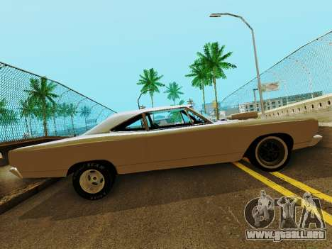 Plymouth GTX para GTA San Andreas left
