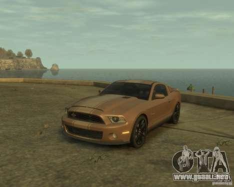 2011 Shelby GT500 Super Snake para GTA 4