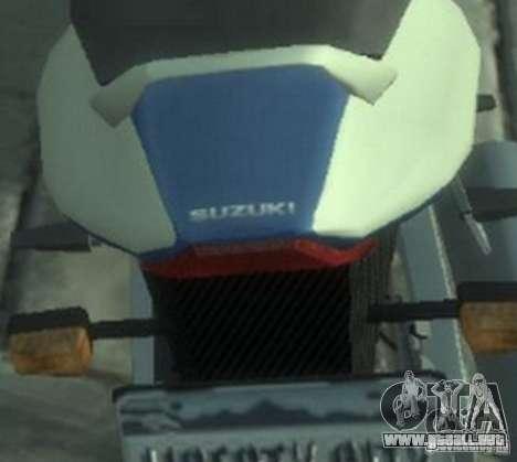 NRG900 to Suzuki GSX-R para GTA 4 visión correcta