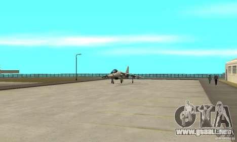Guerra del aire para GTA San Andreas novena de pantalla