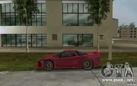 Acura NSX 2004 Veilside para GTA Vice City left