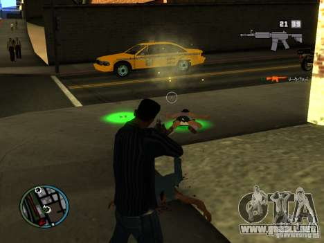 KILL LOG para GTA San Andreas segunda pantalla