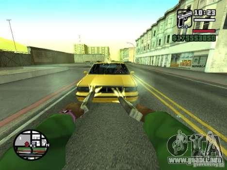 Primera persona (First-Person mod) para GTA San Andreas décimo de pantalla