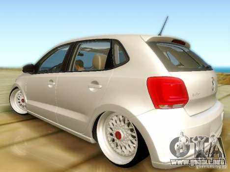 Volkswagen Polo 6R TSI Edit para GTA San Andreas left