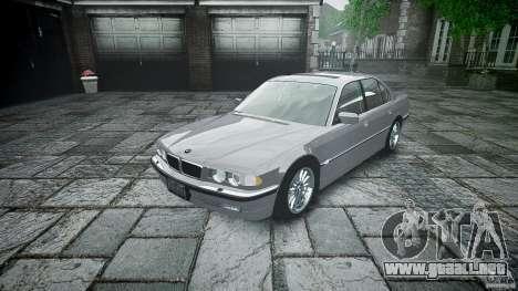 BMW 740i (E38) style 32 para GTA 4 vista interior