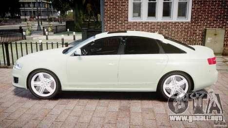 Audi RS6 2010 para GTA 4 left