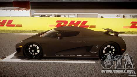 Koenigsegg CCXR Edition para GTA 4 left