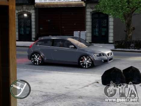 VOLVO C20 RSIGION para GTA 4 left
