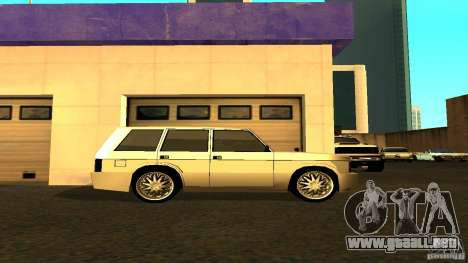 Huntley Sport para GTA San Andreas left