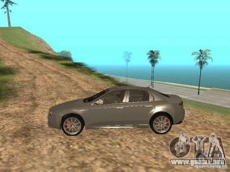 Alfa Romeo 159Ti para GTA San Andreas left