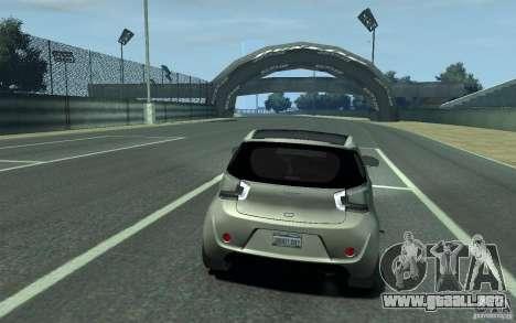 Aston Martin Cygnet 2011 para GTA 4 visión correcta