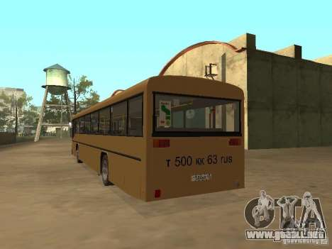 Man 202 para vista lateral GTA San Andreas