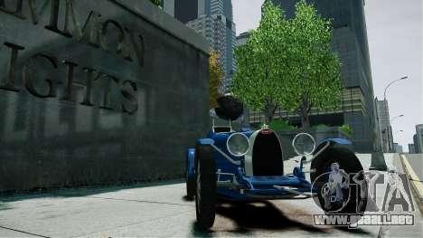 Bugatti Type 35C para GTA 4 visión correcta