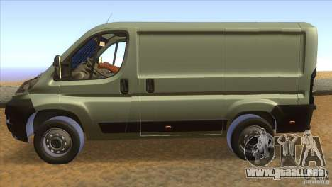 Citroen Jumper para GTA San Andreas left
