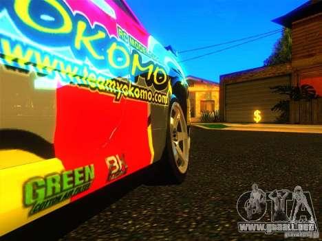 Nissan Skyline R34 Nismo para la visión correcta GTA San Andreas