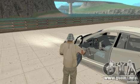 Honda Accord Comfort 2003 para GTA San Andreas vista hacia atrás