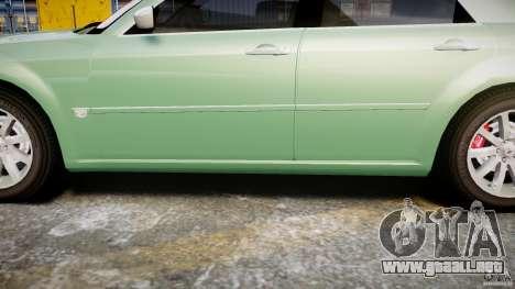 Chrysler 300C SRT8 Tuning para GTA 4 vista desde abajo