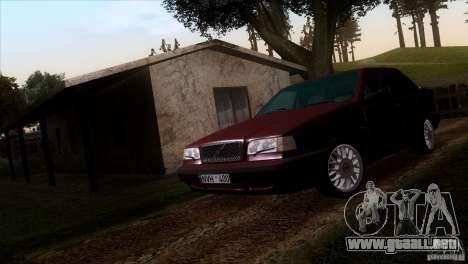 Volvo 850 Final Version para la visión correcta GTA San Andreas