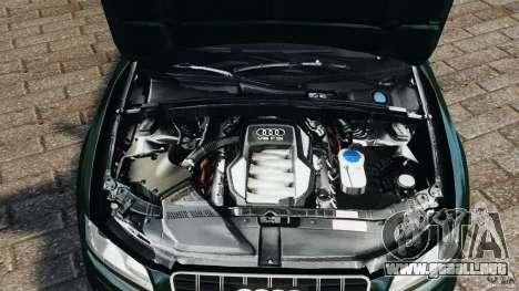 Audi S5 para GTA 4 vista superior
