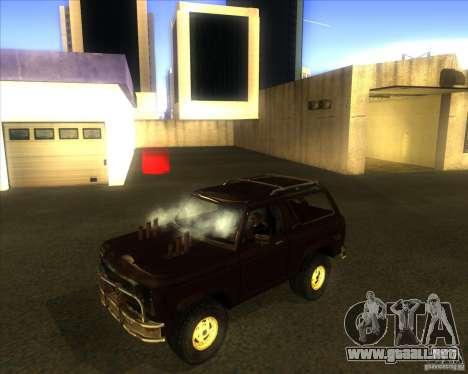 Blazer XL FlatOut2 para GTA San Andreas left