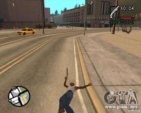 Endorphin Mod v.3 para GTA San Andreas décimo de pantalla