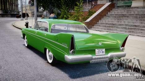 Plymouth Belvedere 1957 v1.0 para GTA 4 Vista posterior izquierda
