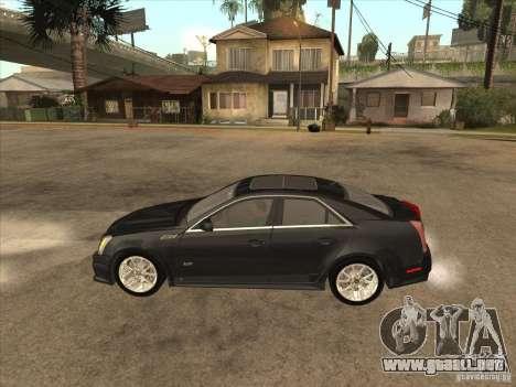 Cadillac CTS-V 2009 para GTA San Andreas left